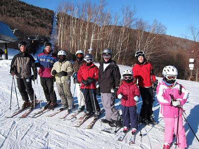 Sugarbush Skiing February 2011