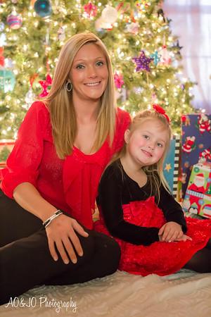 Kristin & Caraline Christmas 2013