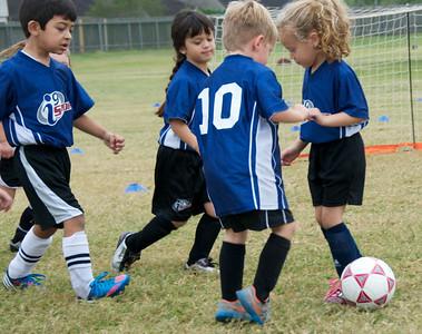 Soccer 10-16-2013 Jack & Kelsey
