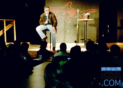 Comedian Rick Bronson