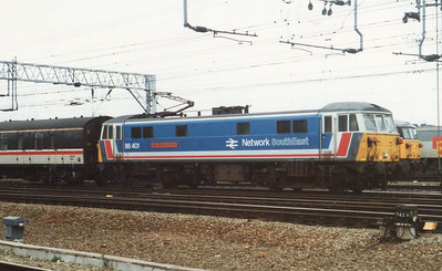 Class 86/4 (BR Doncaster & English Electric Vulcan Foundry)