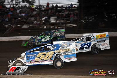 Grandview Speedway - 7/7/18 - Steve Sabo (SDS)