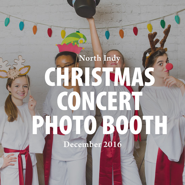 Christmas Concert Photo Booth