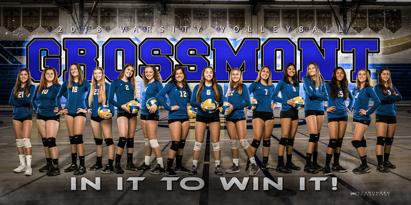 Grossmont Volleyball 2018