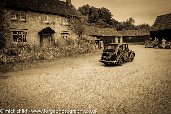 Vintage Cars at Bromham Mill