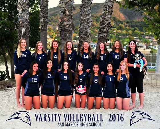 SMHS Varsity Volleyball