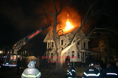 Quincy, MA - 3rd Alarm, 22 Clive Street, 12-15-04