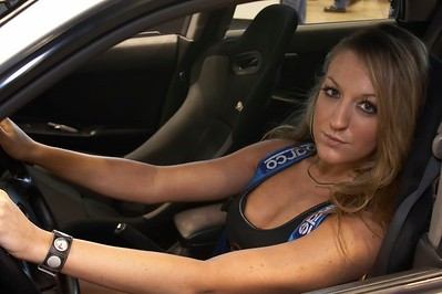 SUBARU: Stephanie at the World of Wheels