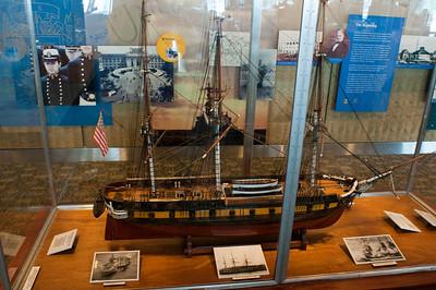USNA - Visitor Center Displays