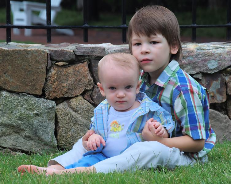 Brother portrait, Treyburn Country Club, Durham, NC.