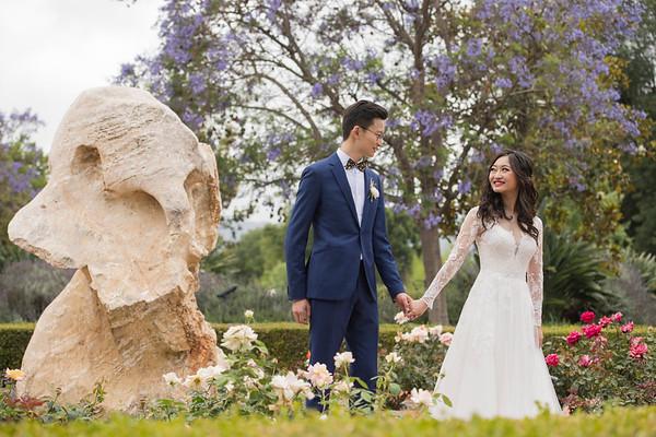 Claudia & Sibao: Bride and Groom
