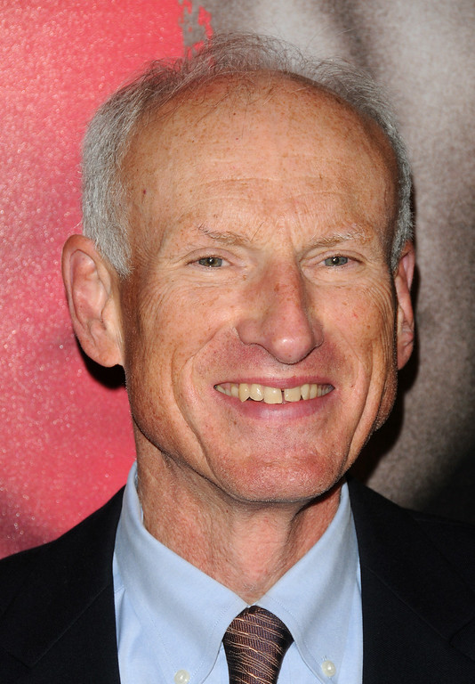 ". In this Nov. 4, 2009 file photo, actor James Rebhorn attends the premiere of ""The Box\"", in New York. Rebhorn passed away Friday, March 21, 2014, at his home in New Jersey. He was 65.  http://bit.ly/1opntmZ  (AP Photo/Peter Kramer, File)"