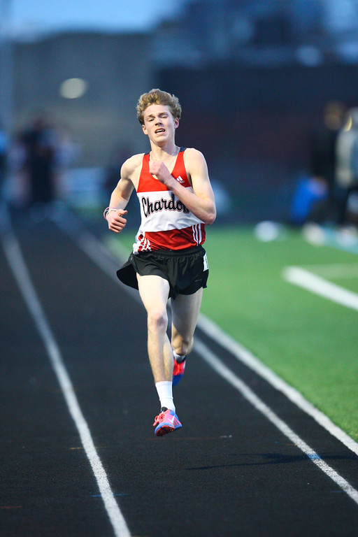 . 2018 - Track and Field - Willoughby South Invitational.  3200 Meter Run.  Nate Kawalec won from Chardon in a time of 9:37.62.