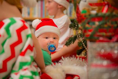 Christmas 2014 with Daniel, Meg and Family