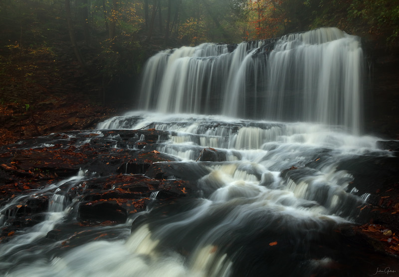 Mohawk Falls at Ricketts Glen, PA
