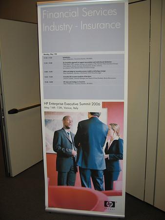 HP Enterprise Exec Summit 2006 - Venice
