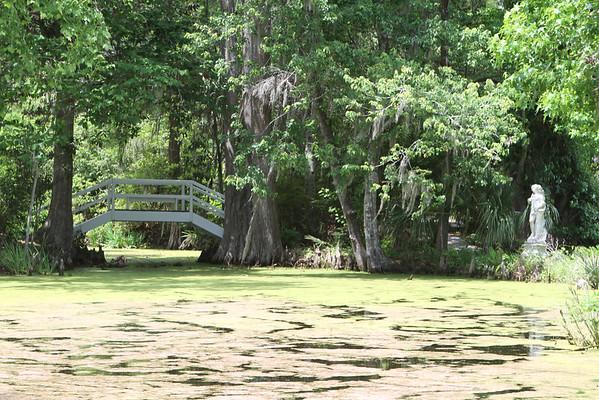 Magnolia Gardens bridges