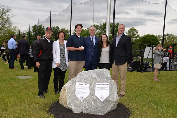 Field Dedication in Honor of The Griswold Family and James Connor 1760