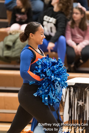 1-13-2018 Watkins Mill HS at Damascus HS Poms Invitational Division 3, Photos by Jeffrey Vogt Photography