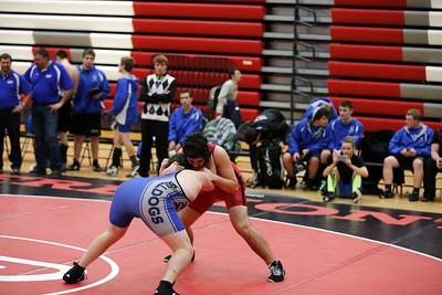 High School Wrestling - 1/13/2016 League Meet (2 of 2)