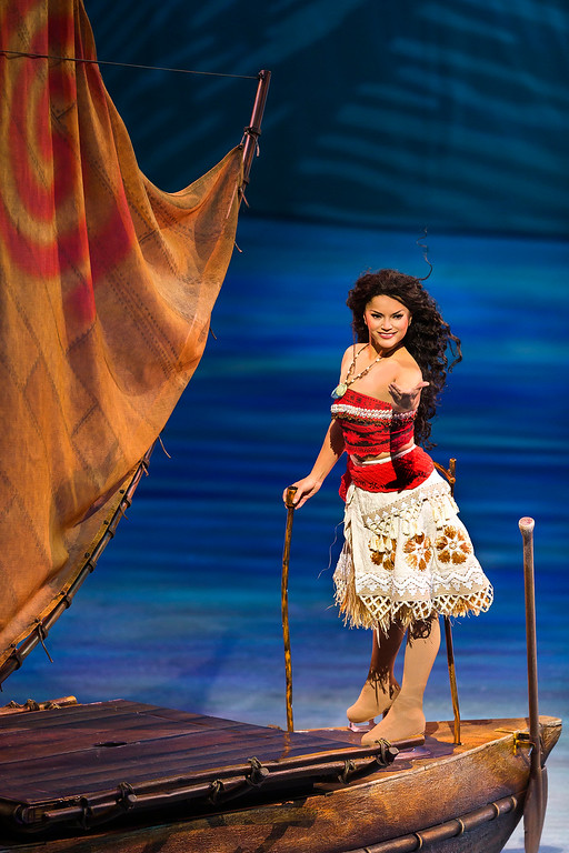. Moana joins the Disney on Ice fun in �Dare to Dream.� The event is at Quicken Loans Arena from Jan. 5 through 14. For more information, visit www.theqarena.com. (Feld Entertainment)