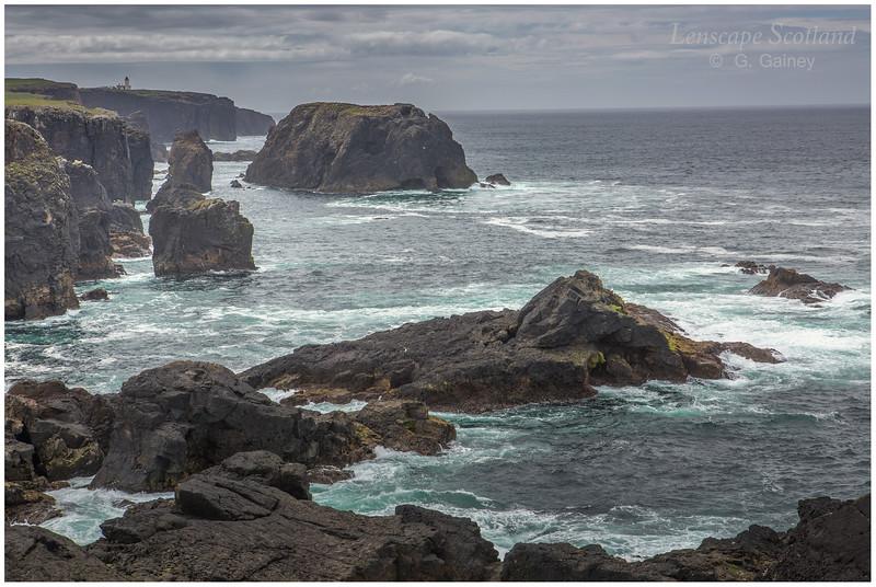 Cliffs at Esha Ness (2) (north Shetland mainland)