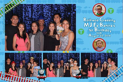 MJ's 1st Birthday (LED Open Air Photo Booth)