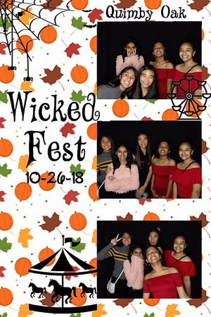 Quimby Oak Wicked Fest 2018