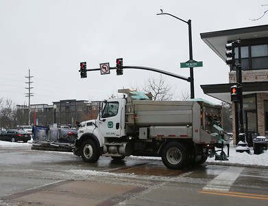 Snow in Wheaton and Downers Grove