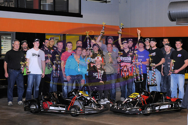 St Jude's Benefit at ProKart Indoor - October 17, 2013