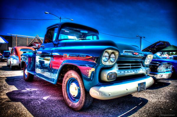 1959 Chevy Pickup - Karen Mollander