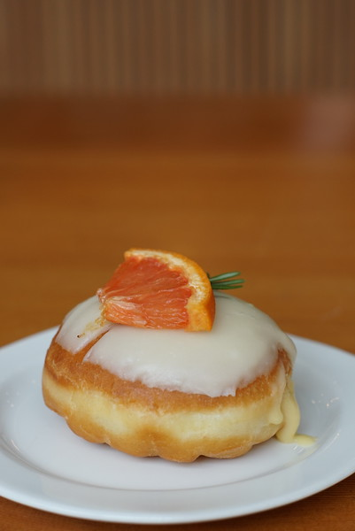 Rosemary Grapefruit donut at Saint-Henri micro-torréfacteur