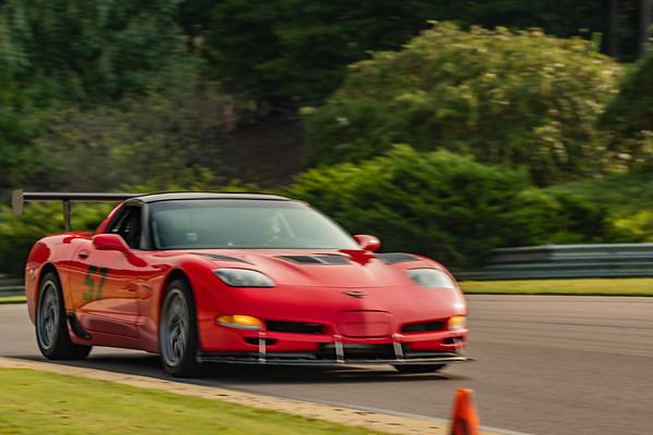 C5 Corvette Red #57