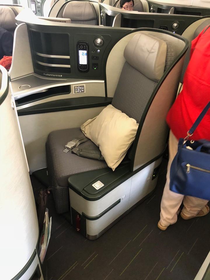Eva Air BR25 BR26 Business Class