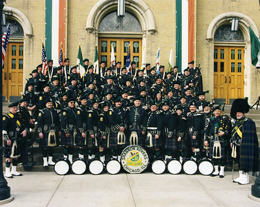 Shannon Rovers Irish Pipe Band