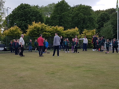2019-05-24 The Cubs Playing Bowls