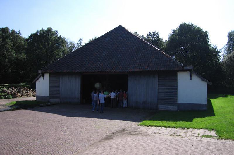 Hangar in Heimatstil