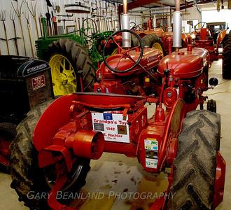 Elwood Hachler's Tractor Ranch, Eldon, Missouri