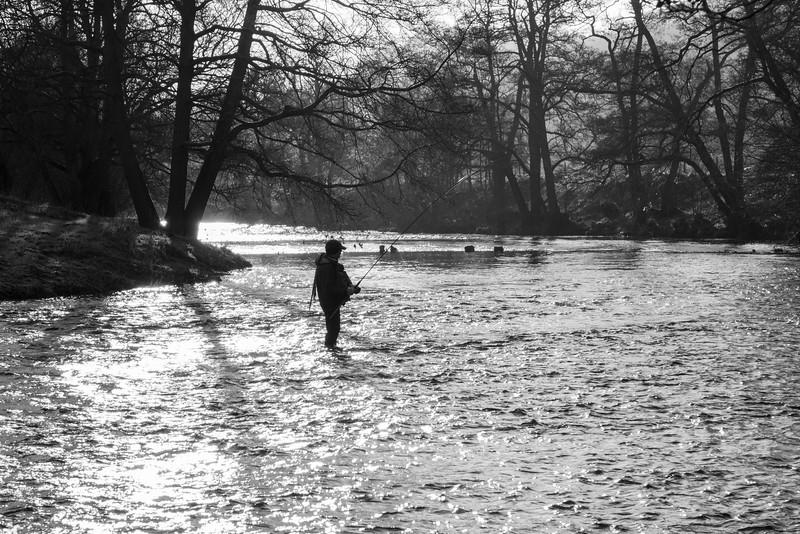 The River Derwent in winter