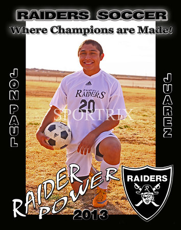 Randall Raiders Boys Soccer 2013