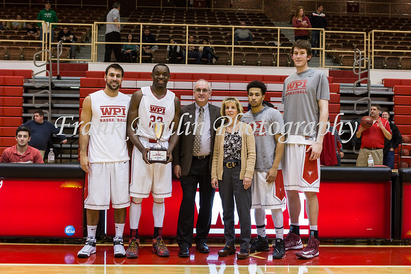 WPI men's basketball 11/21/2015