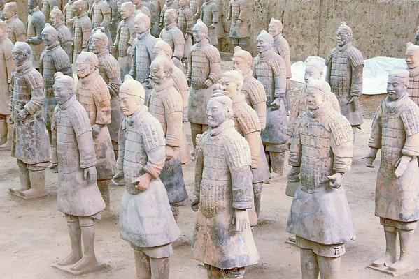 Xian - Armee de terre cuite