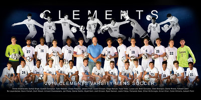 CLEMENTS MENS SOCCER 2019