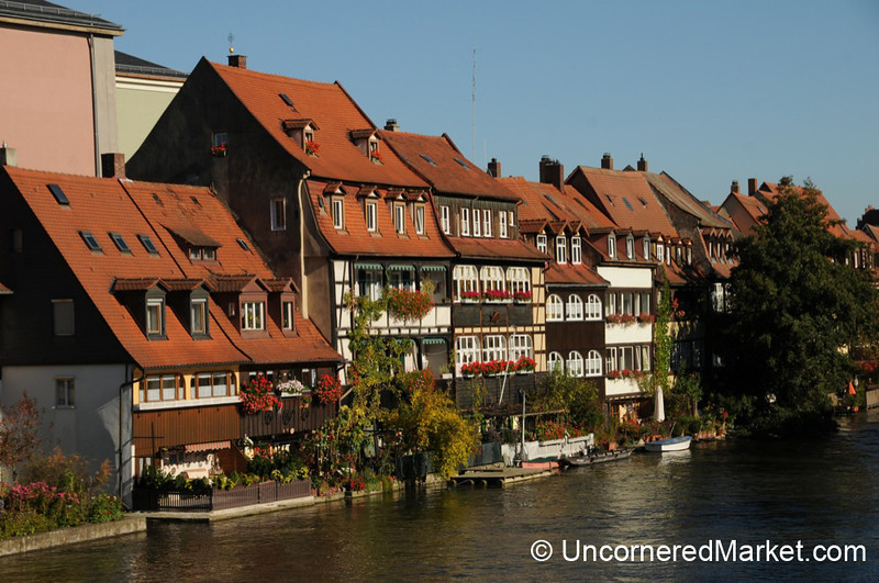 Along the Waterfront in Bamberg, Germany