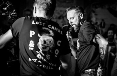 The Uproars, Welsh Rockabilly 2018 B&W