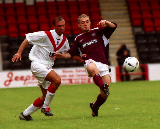 Airdrie v Hearts (1.1) 24 7 04