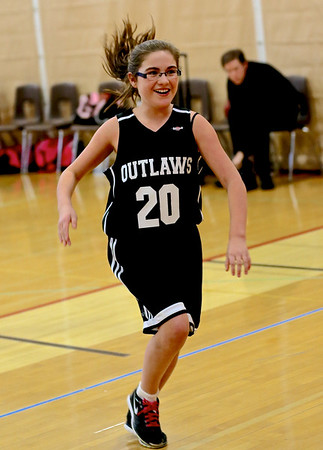 Outlaw Girls 4th -6th Basketball 2-15-14