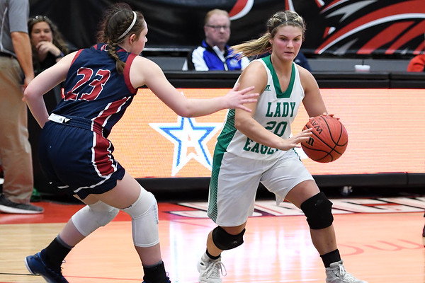 Hokes Bluff Lady Eagles v. Oneonta, February 17, 2020