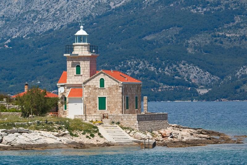 Sućuraj Lighthouse, Croatia