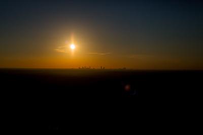 Atlanta City Sunset 10-21-15